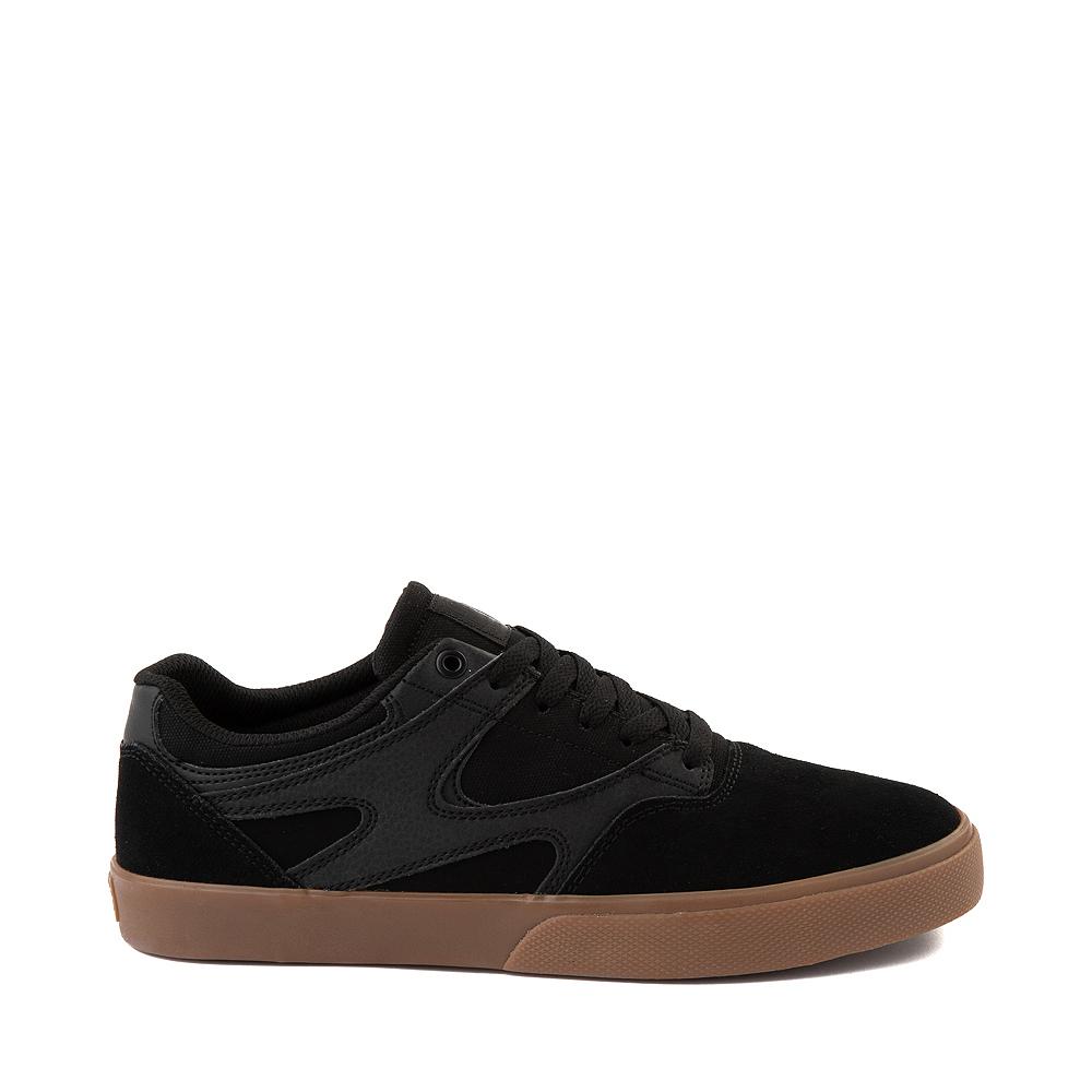 Mens DC Kalis Vulc Skate Shoe - Black / Gum