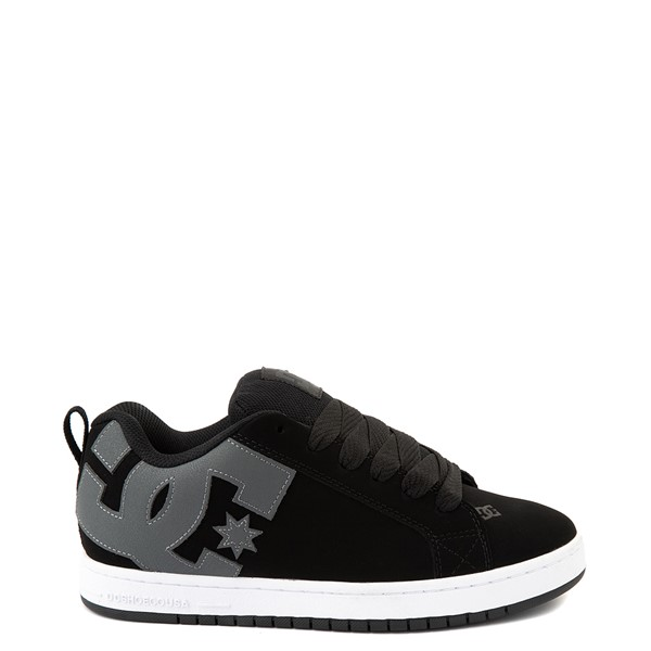 Mens DC Court Graffik Skate Shoe - Black / Gray