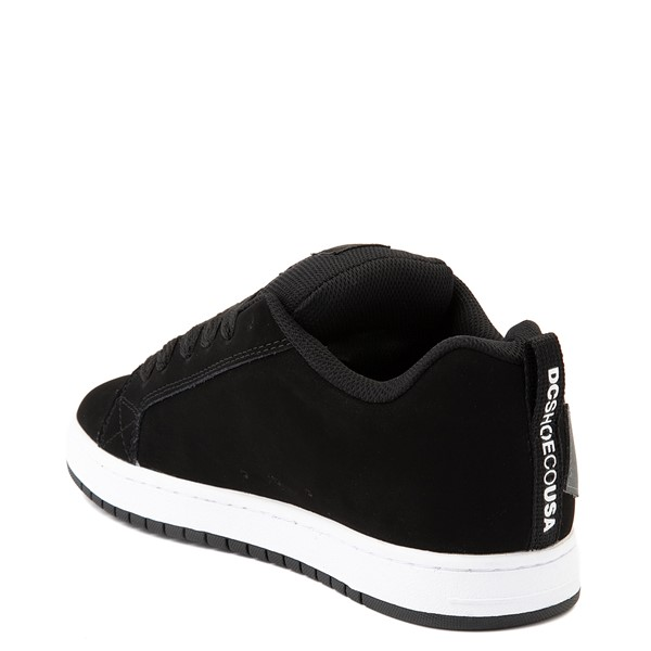 alternate view Mens DC Court Graffik Skate Shoe - Black / GrayALT2