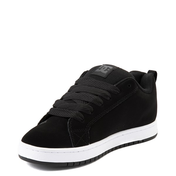 alternate view Mens DC Court Graffik Skate Shoe - Black / GrayALT3