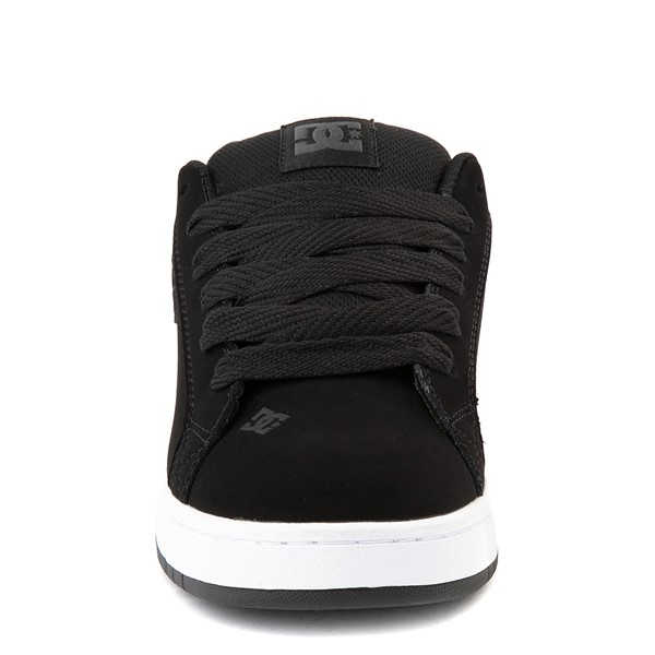 alternate view Mens DC Court Graffik Skate Shoe - Black / GrayALT4