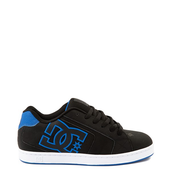 Mens DC Net Skate Shoe - Black / Royal Blue