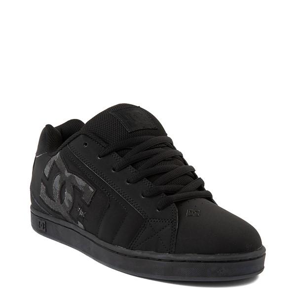 alternate view Mens DC Net Skate Shoe - Black / Camo StencilALT1