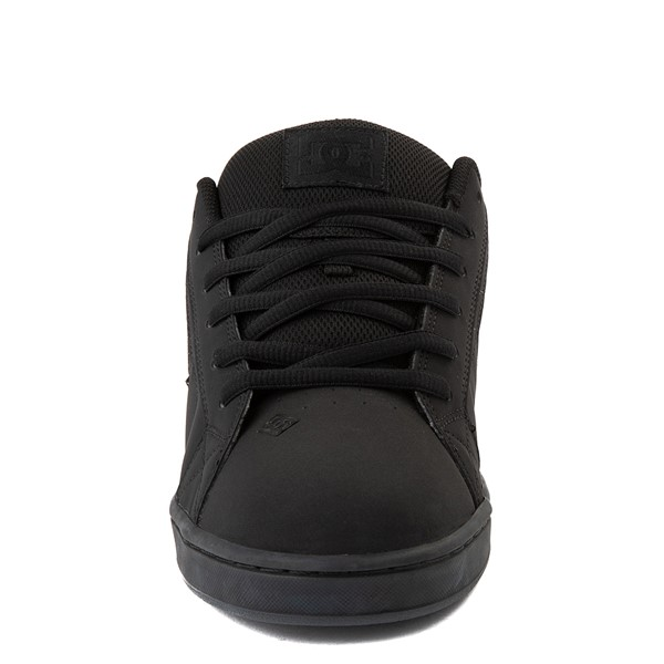 alternate view Mens DC Net Skate Shoe - Black / Camo StencilALT4