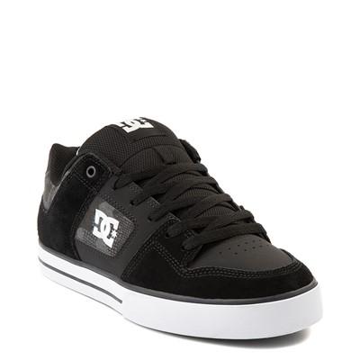 Alternate view of Mens DC Pure Skate Shoe - Black / Gray Camo