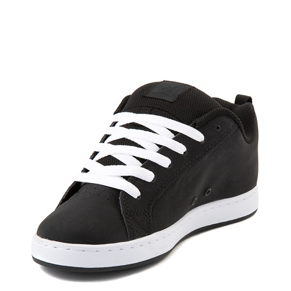 alternate view Womens DC Court Graffik Skate Shoe - Black / PinkALT3