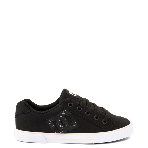 Main view of Womens DC Chelsea Skate Shoe - Black / Splatter