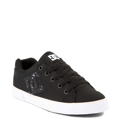 Alternate view of Womens DC Chelsea Skate Shoe - Black / Splatter