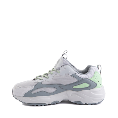 Alternate view of Mens Fila Ray Tracer Athletic Shoe - Gray / Mint Green