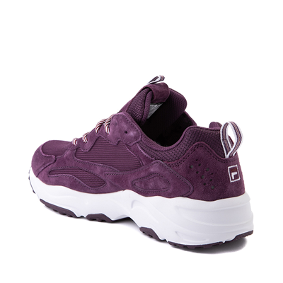 Alternate view of Womens Fila Ray Tracer Athletic Shoe - Purple / Rosewood / White