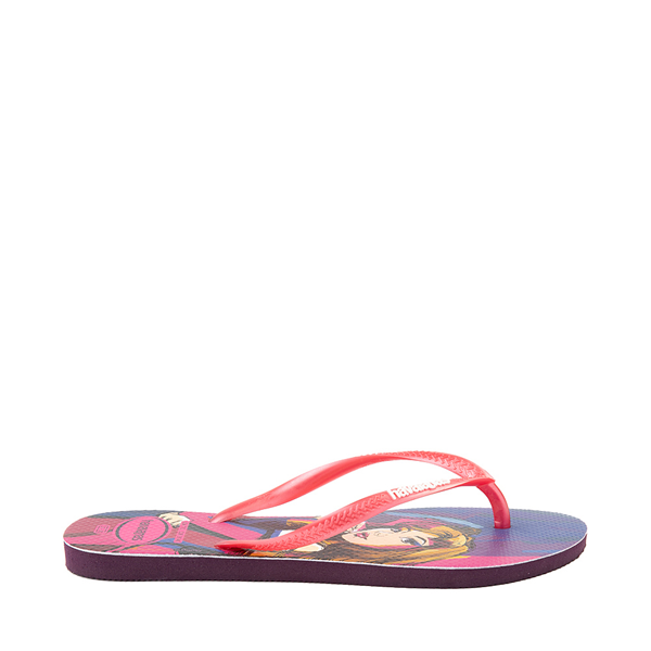 alternate view Womens Havaianas Disney Slim Villains Sandal - Aurora / MaleficentALT1