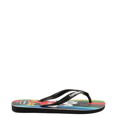Alternate view of Havaianas Top Magic Mickey Sandal - Black / Rainbow