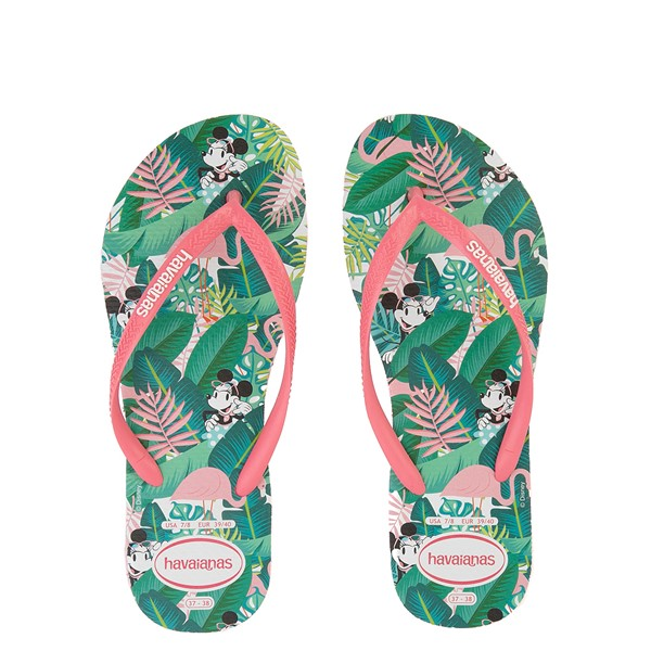 Womens Havaianas Top Magic Minnie Sandal - Pink Porcelain