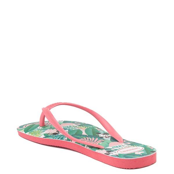 alternate view Womens Havaianas Top Magic Minnie Sandal - Pink PorcelainALT1B