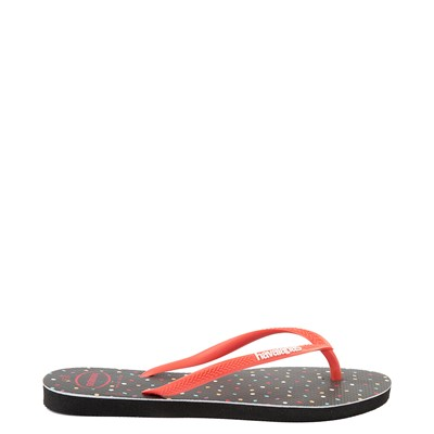 Alternate view of Womens Havaianas Top Magic Minnie Sandal - Black