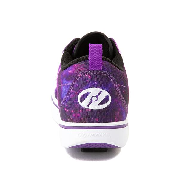 alternate view Heelys Pro 20 Galaxy Skate Shoe - Little Kid / Big Kid - PurpleALT4