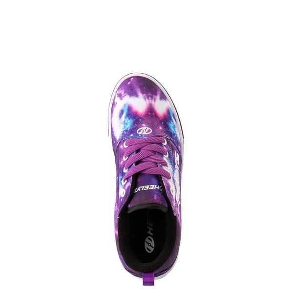 alternate view Heelys Pro 20 Galaxy Skate Shoe - Little Kid / Big Kid - PurpleALT4B