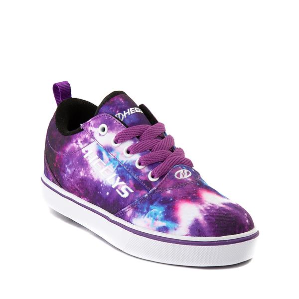 alternate view Heelys Pro 20 Galaxy Skate Shoe - Little Kid / Big Kid - PurpleALT5