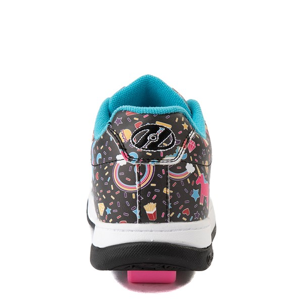 alternate view Heelys Split Unicorn Skate Shoe - Little Kid / Big Kid - Black / MulticolorALT2B
