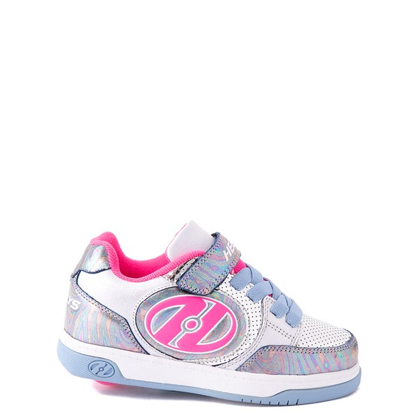 Heelys Plus X2 Skate Shoe - Little Kid / Big Kid - Pink / Silver