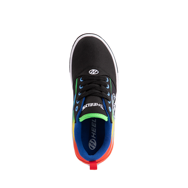 alternate view Heelys Pro 20 Flames Skate Shoe - Little Kid / Big Kid - Black / MulticolorALT2