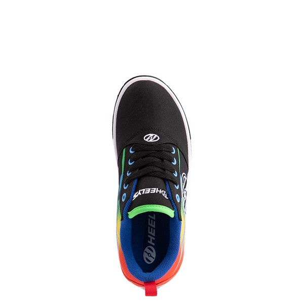 alternate view Heelys Pro 20 Flames Skate Shoe - Little Kid / Big Kid - Black / MulticolorALT4B