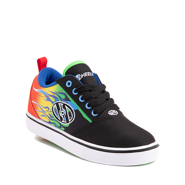 alternate view Heelys Pro 20 Flames Skate Shoe - Little Kid / Big Kid - Black / MulticolorALT5