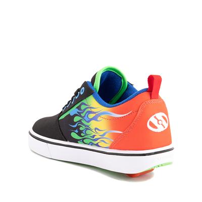 Alternate view of Heelys Pro 20 Flames Skate Shoe - Little Kid / Big Kid - Black / Multicolor