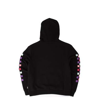 Alternate view of Vans Pastel Check Hoodie - Little Kid / Big Kid - Black