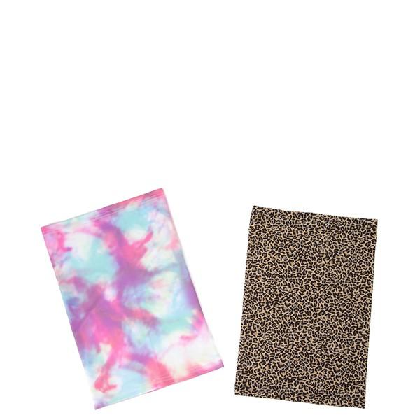 Gaiter Mask 2 Pack - Pastel Tie Dye / Leopard