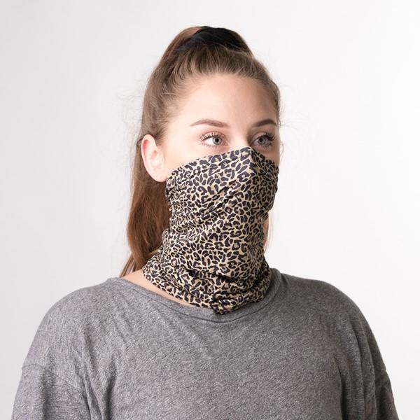 alternate view Gaiter Mask 2 Pack - Pastel Tie Dye / LeopardALT1B