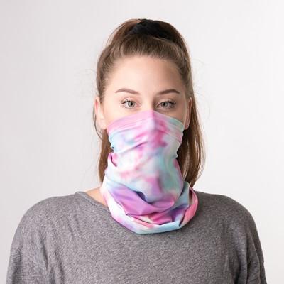 Alternate view of Gaiter Mask 2 Pack - Pastel Tie Dye / Leopard