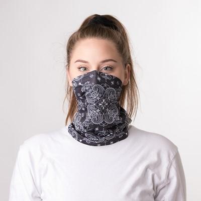 Alternate view of Gaiter Mask 2 Pack - Black Paisley / Black