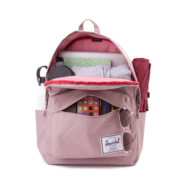 alternate view Herschel Supply Co. Classic XL Backpack - Ash PinkALT1