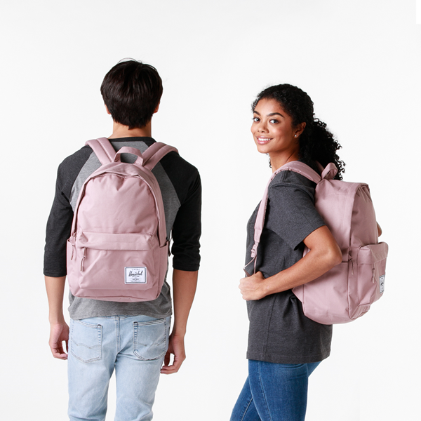 alternate view Herschel Supply Co. Classic XL Backpack - Ash PinkALT1BADULT