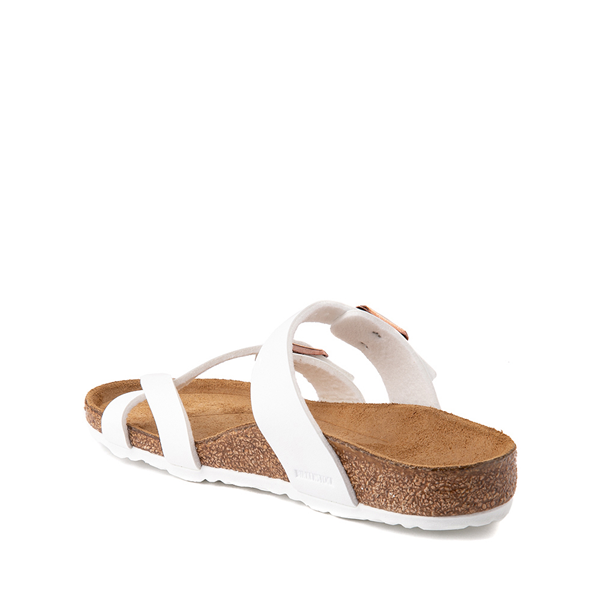 alternate view Birkenstock Mayari Sandal -  Little Kid - WhiteALT1