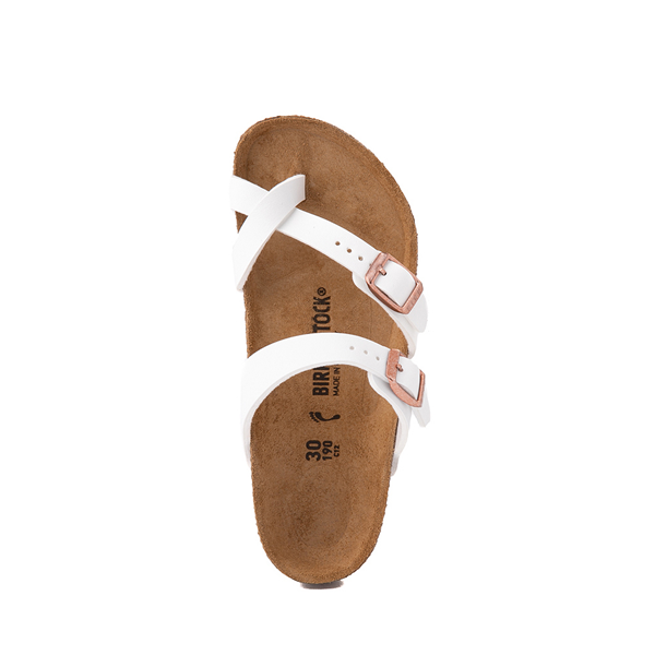 alternate view Birkenstock Mayari Sandal -  Little Kid - WhiteALT2