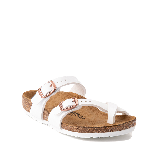 alternate view Birkenstock Mayari Sandal -  Little Kid - WhiteALT5