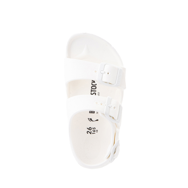 alternate view Birkenstock Milano EVA Sandal - Toddler / Little Kid - WhiteALT2