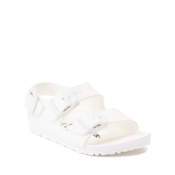 alternate view Birkenstock Milano EVA Sandal - Toddler / Little Kid - WhiteALT5