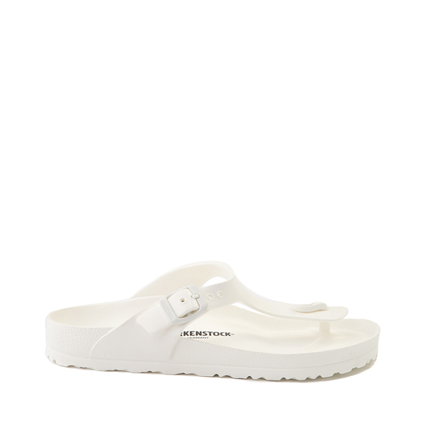 Main view of Womens Birkenstock Gizeh EVA Sandal - White