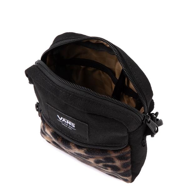 alternate view Vans Bail Shoulder Bag - Black / LeopardALT3