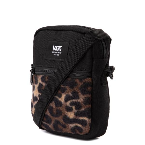 alternate view Vans Bail Shoulder Bag - Black / LeopardALT4