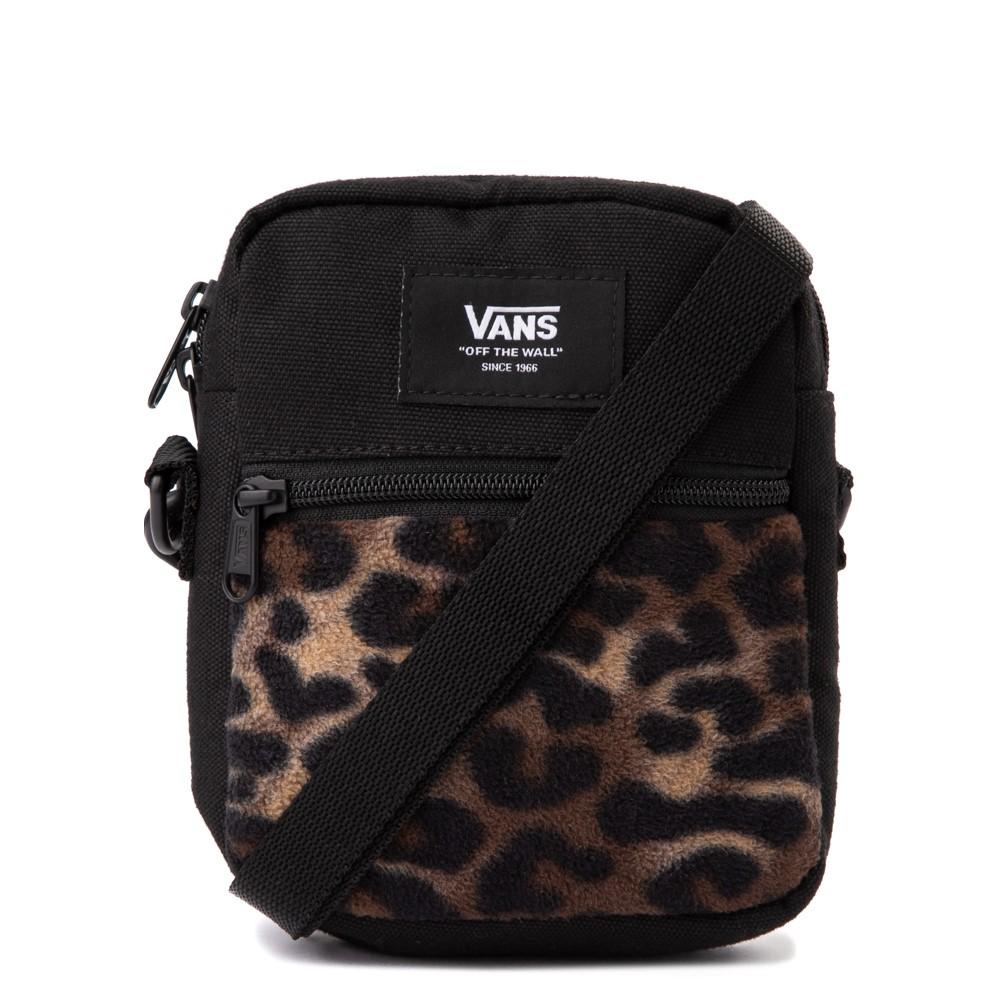 Vans Bail Shoulder Bag - Black / Leopard