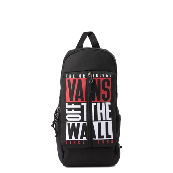 Main view of Vans Warp OTW Sling Bag - Black