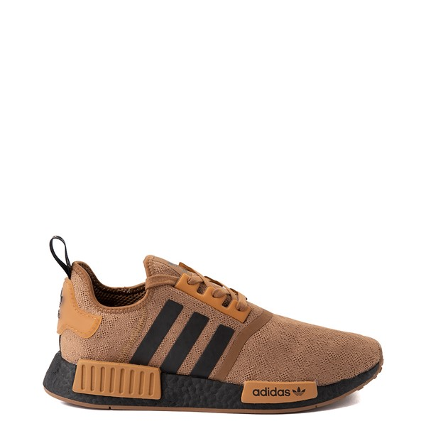Mens adidas NMD R1 Athletic Shoe - Raw Desert / Black / Mesa