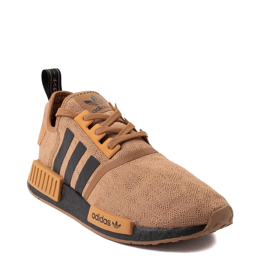 Mens adidas NMD R1 Athletic Shoe - Raw Desert / Black / Mesa