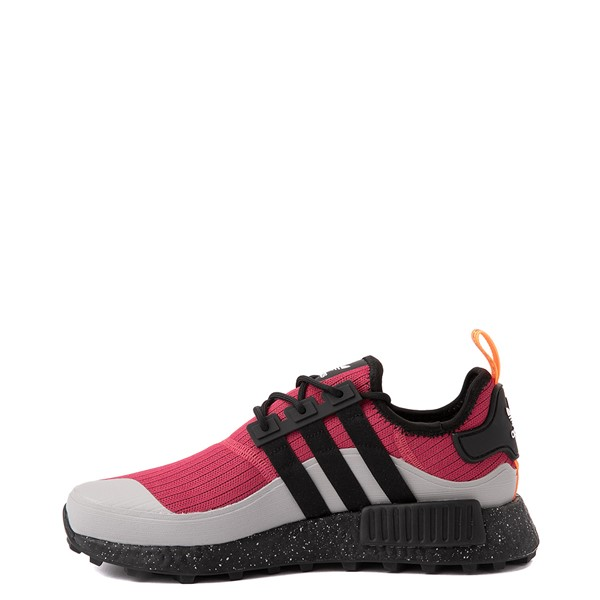alternate view Mens adidas NMD R1 Trail Athletic Shoe - Wild Pink / Core BlackALT1