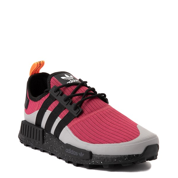 alternate view Mens adidas NMD R1 Trail Athletic Shoe - Wild Pink / Core BlackALT5
