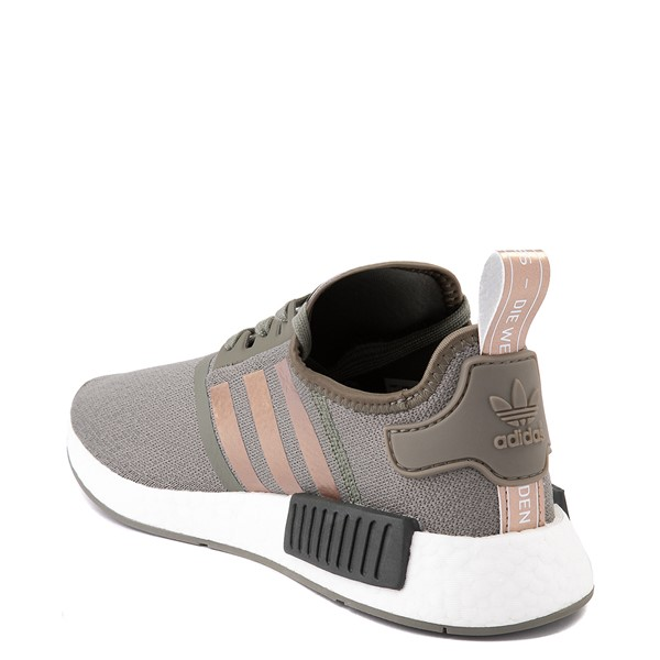alternate view Womens adidas NMD R1 Athletic Shoe - Legacy Green / CopperALT1